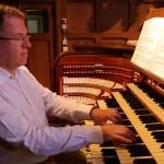 Ruud als organist